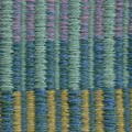 Muriel Beckett- textile weaving wall hanging 4, detail. Made in Wicklow, Ireland