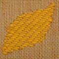 Muriel Beckett- textile weaving wall hanging 9, detail. Crafted in Wicklow, Ireland