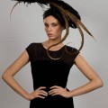 Carol Smith - milliner working in Wicklow - ornate worn art